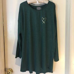 Victoria's Secret Long Sleeve Sleepshirt.